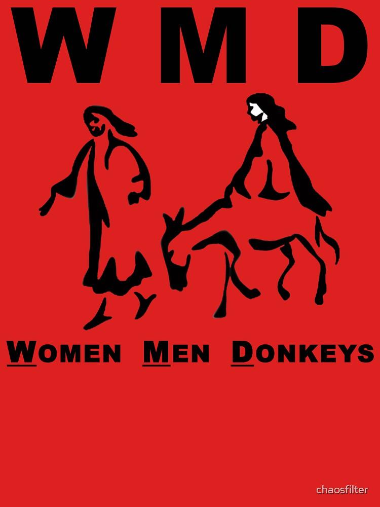 WMD: Women Men Donkeys by chaosfilter