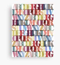 Letters!!! Canvas Print