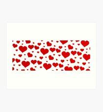 Love banniere  Art Print