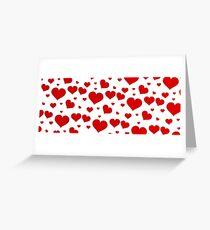Love banniere  Greeting Card