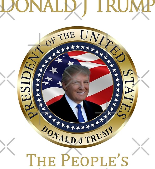 President Donald J Trump The People's President  by IconicTee