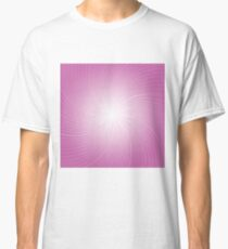 pink rays  background Classic T-Shirt