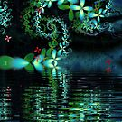 "Fractal: ""By the lake"" by Freda Surgenor"