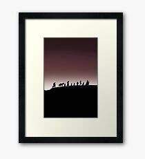 Fellowship of the Ring Framed Print