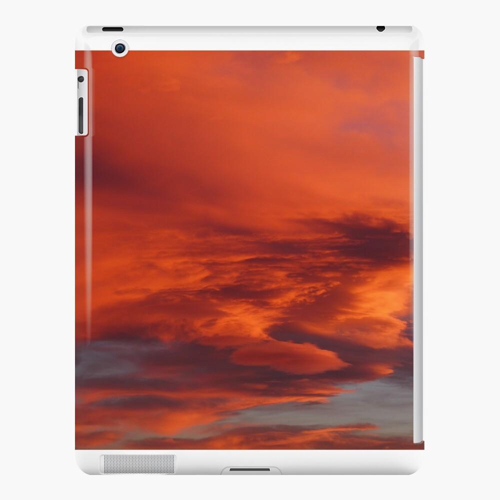 Flaming Colorado Sunset Funda y vinilo para iPad