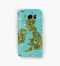 British Isles  Samsung Galaxy Case/Skin