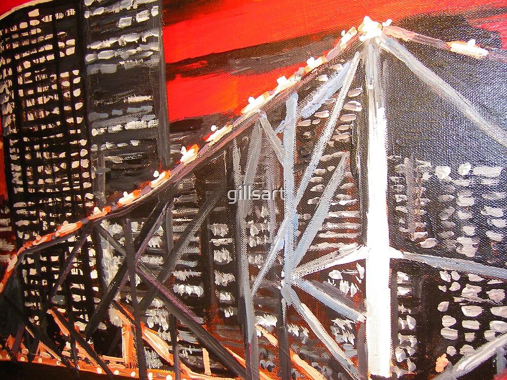Storey Bridge Brisbane  by gillsart