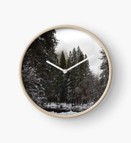 Yosemite in Winter Clock