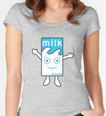 Milk Boy Women's Fitted Scoop T-Shirt