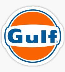Classic GULF Gasoline Logo Sticker
