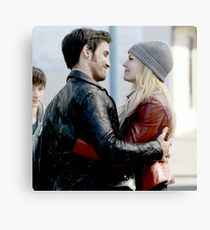 TV Show: Once Upon A Time (Captain Swan) Canvas Print