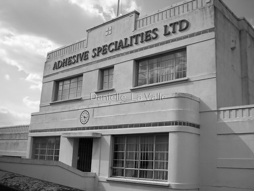 Old adhesive factory 1 by Danielle  La Valle