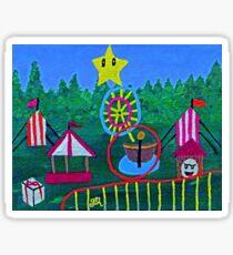 Midway Birthday Sticker