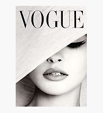 Vogue  Photographic Print