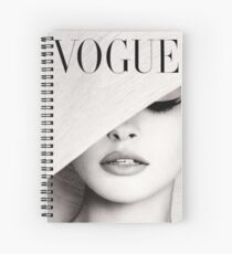 Vogue  Spiral Notebook