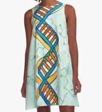 Square DNA A-Line Dress