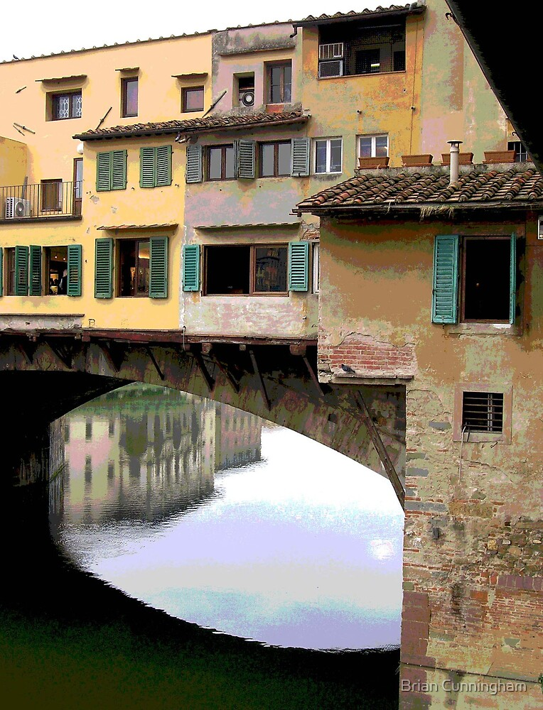 Historic Bridge, Italy by Brian Cunningham