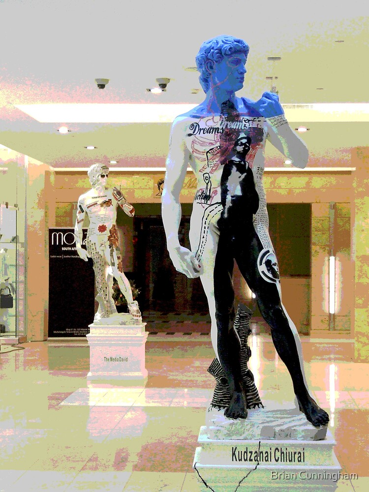 Mall Artwork of David by Brian Cunningham