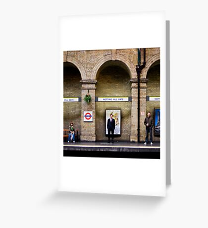 Arched people Greeting Card