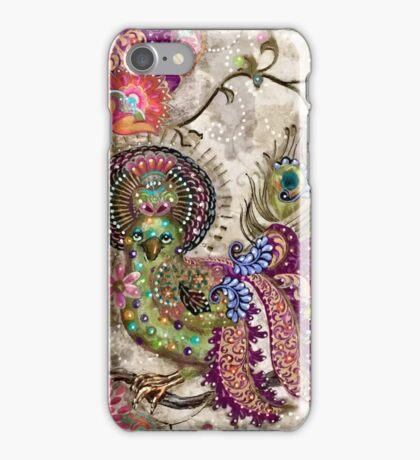 Purple Peacock iPhone Case/Skin