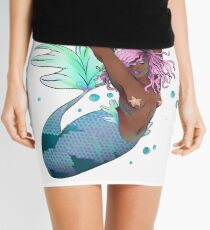 Tranquil Mermaid Mini Skirt