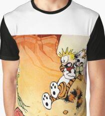 Calvin and Hobbes Weirdos From Another Planet Graphic T-Shirt