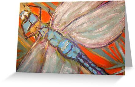 Dragonfly by gillsart