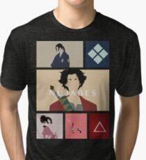 mugen nujabes samurai champloo Tri-blend T-Shirt