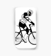 Biker Scout on a Bicycle - Biker Scout Bike - Star Wars Biker Scout Samsung Galaxy Case/Skin