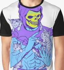 Skeletor, Masters of the Meowniverse. Graphic T-Shirt