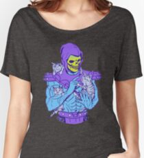 Skeletor, Masters of the Meowniverse. Women's Relaxed Fit T-Shirt