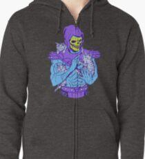 Skeletor, Meister des Meuniversums. Hoodie mit Reißverschluss