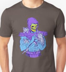 Skeletor, Masters of the Meowniverse. Unisex T-Shirt