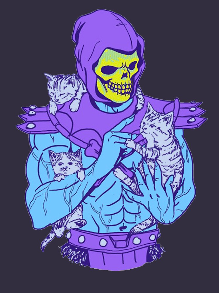 Skeletor, Masters of the Meowniverse. by dawsintron