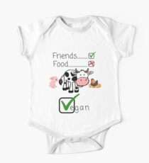 Vegan Animal Rights Animals are Friends and Not Food - Gift Idea for Women Men Boys And Girls Kids Clothes