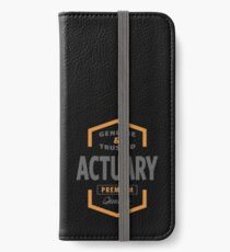 Actuary iPhone Wallet/Case/Skin