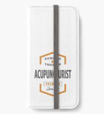 Acupuncturist iPhone Wallet/Case/Skin