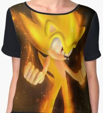 Super Sonic Women's Chiffon Top