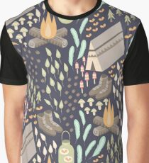 Camping Bliss Graphic T-Shirt