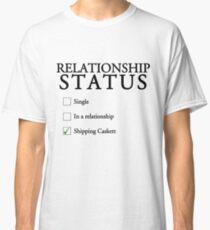 Relationship status - caskett Classic T-Shirt
