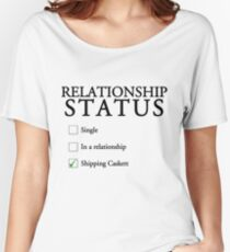 Relationship status - caskett Women's Relaxed Fit T-Shirt