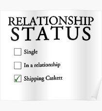 Relationship status - caskett Poster