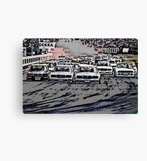 DTM Mercedes 190 Evo Fight Canvas Print
