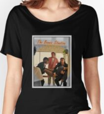 Pulp Fiction  'The Bonnie Situation' - John Travolta, Samuel L. Jackson, Quentin Tarantino Women's Relaxed Fit T-Shirt