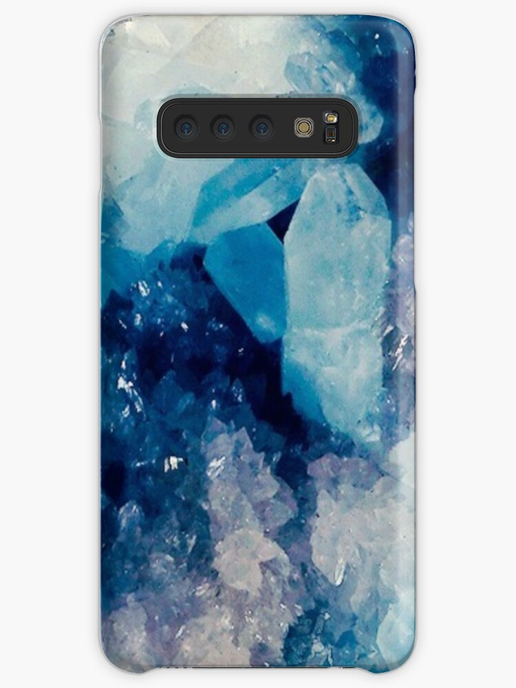 'Blue Crystal Aesthetic' Case/Skin for Samsung Galaxy by arealprincess