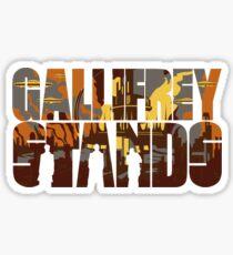 Gallifrey Stands Sticker