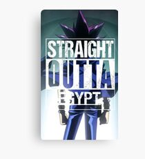 Straight Outta Egypt Canvas Print
