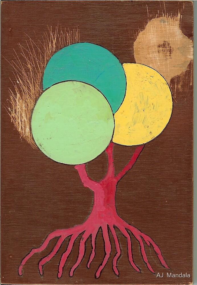 Tree Circle by AJ  Mandala