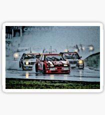 DTM Alfa Romeo 155 Mercedes 190 Fight Sticker