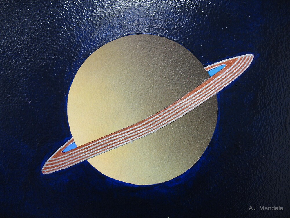 Saturn by AJ  Mandala